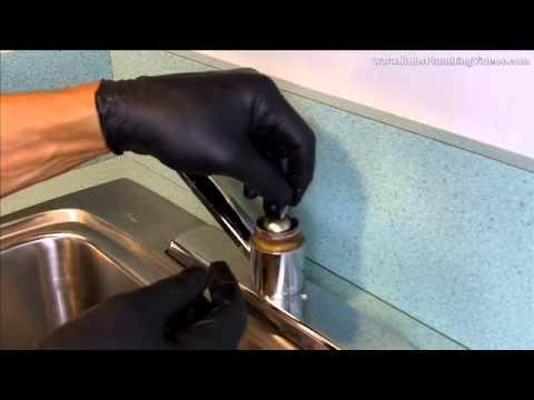 Delta Bathroom Faucet Parts >> How To Repair a Delta Single Lever Faucet